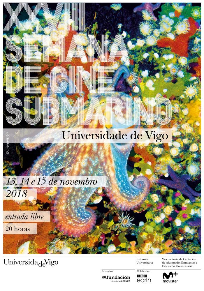 CARTAZ 2018 XXVIII Ed. Semana de Cine Submarino UVigo