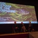 3. Anxo Mena, J.J. Candán e Cheva. XXIX Semana de Cine Submarino Universidade Vigo 2019