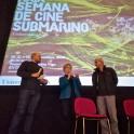 2. Anxo Mena, J.J. Candán e Cheva. XXIX Semana de Cine Submarino Universidade Vigo 2019
